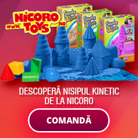 Nisip kinetic si jucarii de calitate de la Nicoro