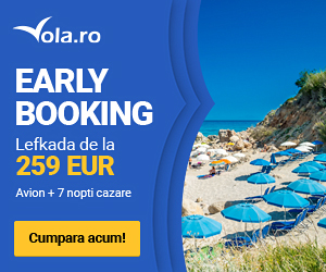 Early booking Lefkada 2017 la vola.ro