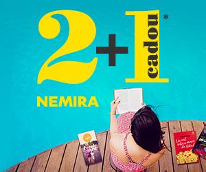 📚  2 + 1 Cadou la cartile Nemira si Nemi 👍
